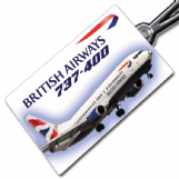 British Airways 737 Crew Tag